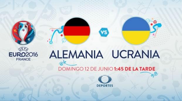 Alemania vs Ucrania, Eurocopa 2016   Resultado: 2-0 - alemania-vs-ucrania-euro-2016-televisa-deportes