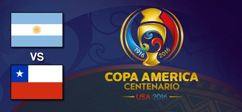 Argentina vs Chile, Copa América 2016 | Resultado: 2-1 - argentina-vs-chile-copa-america-centenario-2016