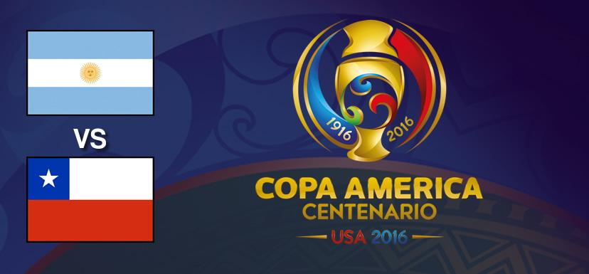 Argentina vs Chile, Final de Copa América 2016 | Resultado: 0-0 - argentina-vs-chile-final-copa-america-centenario-2016