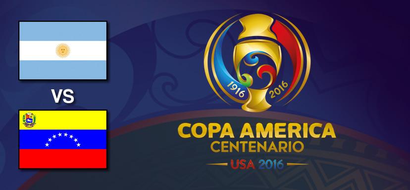 argentina vs venezuela copa america centenario 2016 Argentina vs Venezuela, Copa América Centenario | Resultado: 4 1