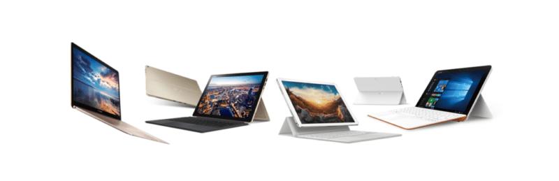 Computex 2016: Lanzamiento de nuevas computadoras portátiles ASUS - asus-computadoras-portatiles-800x259
