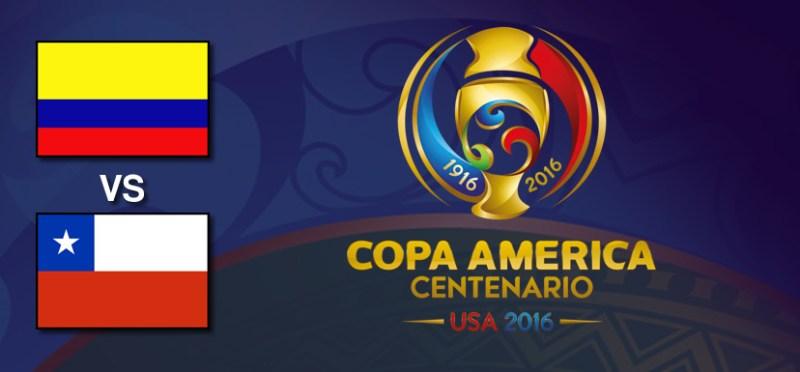 Colombia vs Chile en Copa América Centenario 2016 | Resultado: 0-2 - colombia-vs-chile-copa-america-centenario-2016