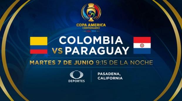 Colombia vs Paraguay, Copa América 2016 | Resultado: 2-1 - colombia-vs-paraguay-copa-america-2016-televisa-deportes