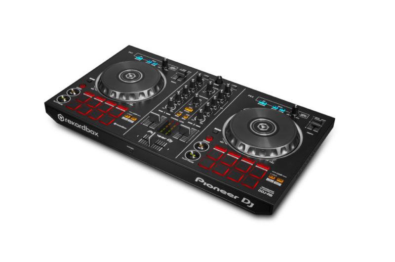 Nuevos controladores Pioneer para DJ, compatibles con Rekordbox DJ - controlador-pioneer-ddj-rb-02-800x530