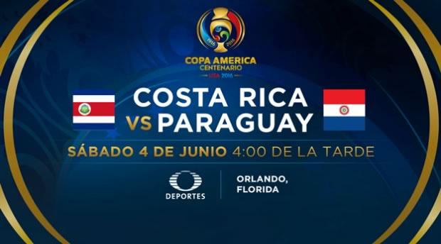 Costa Rica vs Paraguay, Copa América 2016 | Resultado: 0-0 - costa-rica-vs-paraguay-copa-america-2016-televisa-deportes