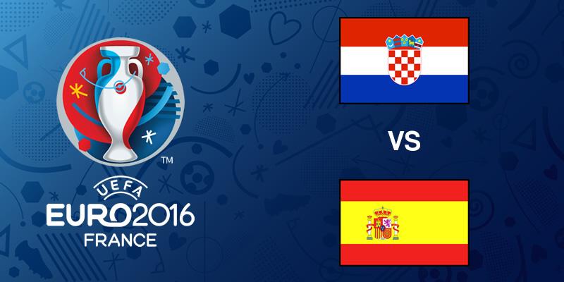 Croacia vs España en la Eurocopa 2016 | Resultado: 2-1 - croacia-vs-espana-eurocopa-2016