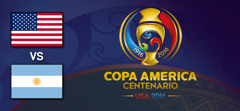 Estados Unidos vs Argentina, Copa América 2016 | Resultado: 0-4 - estados-unidos-vs-argentina-copa-america-centenario-2016