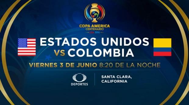 Estados Unidos vs Colombia, Copa América 2016 | Resultado: 0-2 - estados-unidos-vs-colombia-copa-america-2016-televisa-deportes