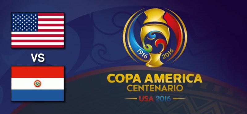 Estados Unidos vs Paraguay, Copa América Centenario | Resultado: 1-0 - estados-unidos-vs-paraguay-copa-america-centenario-2016
