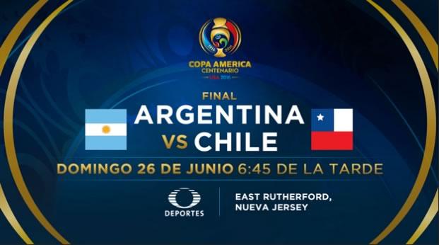 Argentina vs Chile, Final de Copa América 2016 | Resultado: 0-0 - final-argentina-vs-chile-copa-america-centenario-2016