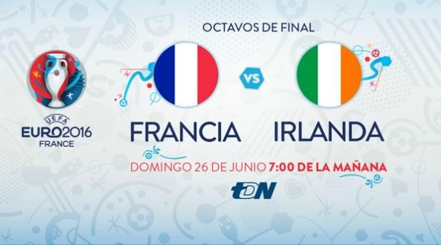 Francia vs Irlanda, Octavos de la EURO 2016 | Resultado: 2-1 - francia-vs-irlanda-en-vivo-euro-2016