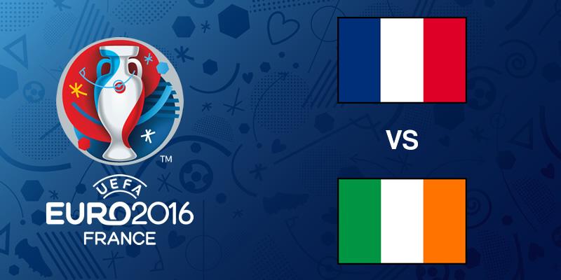 Francia vs Irlanda, Octavos de la EURO 2016 | Resultado: 2-1 - francia-vs-irlanda-eurocopa-2016