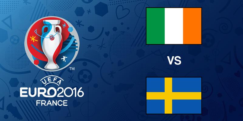 Irlanda vs Suecia, Eurocopa 2016 | Resultado: 1-1 - irlanda-vs-suecia-eurocopa-2016