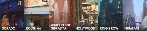 Ya disponible el modo juego competitivo de Overwatch - mapas-de-escoltao-hibridos-overwatch