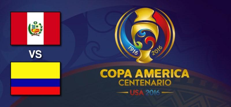 Perú vs Colombia, Copa América Centenario | Resultado: 0-0 - peru-vs-colombia-copa-america-centenario-2016