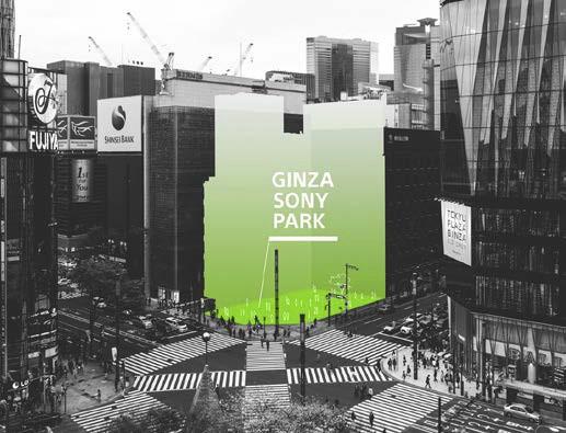 """#Sony pone en marcha el """"Proyecto Ginza Sony Park"""""""