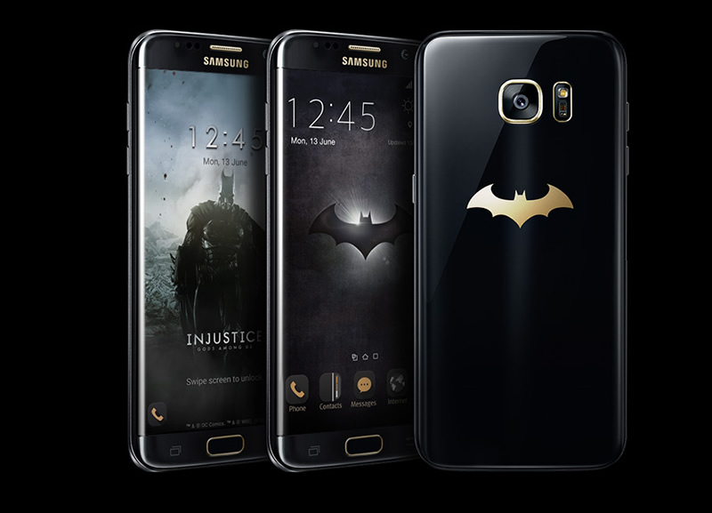 Galaxy S7 edge Injustice Edition llegó a México - s7-edge-injustice-edition