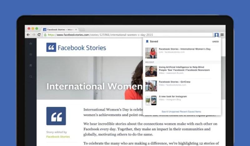 Facebook lanza extensiones para Google Chrome - save-to-facebook