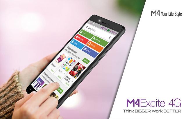 Lanzamiento del M4 Excite: integra tecnología, desempeño y velocidad - smartphone-m4-excite