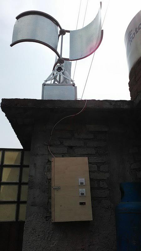Estudiantes desarrollan generador eléctrico para iluminación en hogares - unitec-generador-electrico