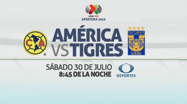 América vs Tigres, J3 del Apertura 2016 | Resultado: 0-3 - america-vs-tigres-en-vivo-apertura-2016