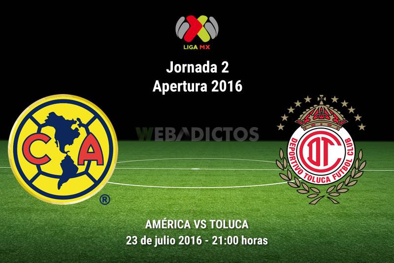 América vs Toluca, J2 del Apertura 2016 | Resultado: 3-1 - america-vs-toluca-apertura-2016