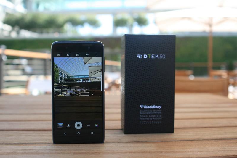 BlackBerry DTEK50, el smartphone Android más seguro del mundo - blacberry-dtek50-android