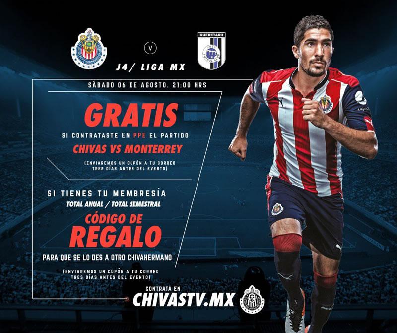 Chivas TV gratis para el partido contra Querétaro; conoce los detalles - chivas-tv-gratis-partido-queretaro