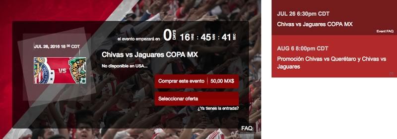 Chivas vs Jaguares, Copa MX AP2016 | Resultado: 1-4 - chivas-vs-jaguares-por-chivas-tv