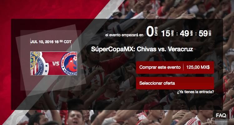 Chivas vs Veracruz, SuperCopa MX 2016 | Resultado: 2-0 - chivas-vs-veracruz-supercopa-mx-chivas-tv