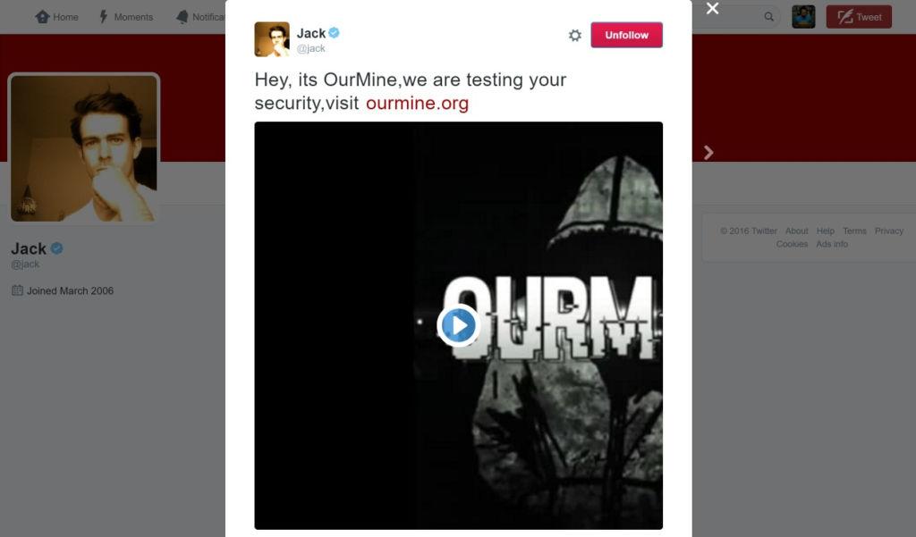Hackean cuenta de Twitter de Jack Dorsey, CEO de esta red social - engadget-twitter-jack-dorsey-hacked