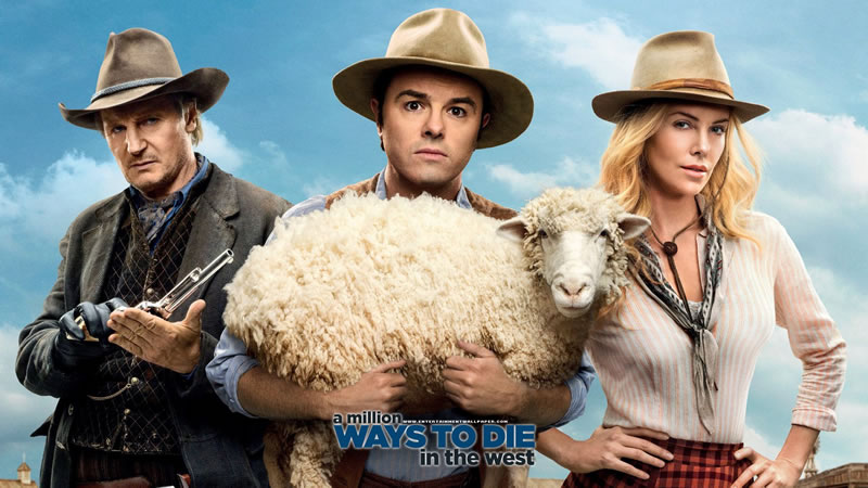 Estrenos de Netflix para ver el fin de semana (8 al 10 de julio 2016) - estrenos-netflix-a-million-ways-to-die-in-the-west