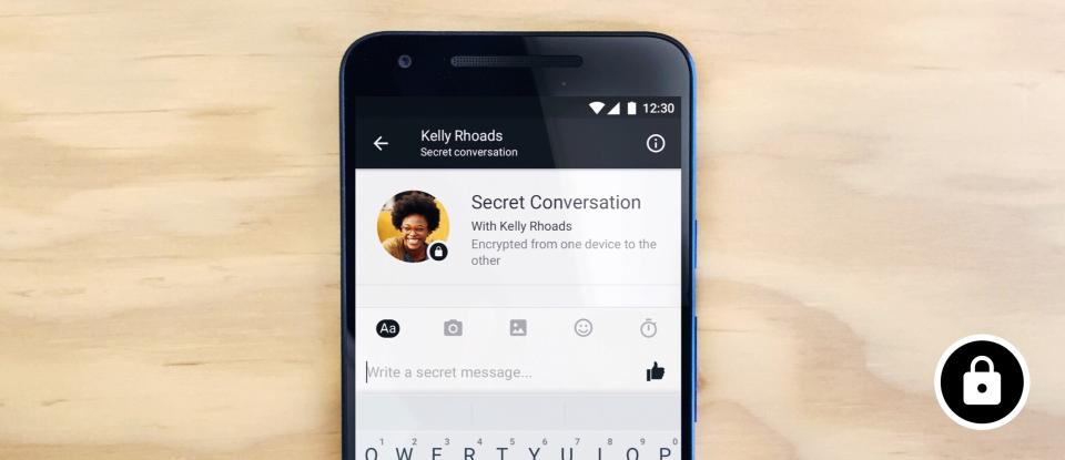 Facebook Messenger empieza a probar encriptación de punto-a-punto - facebook-messenger-encriptacion