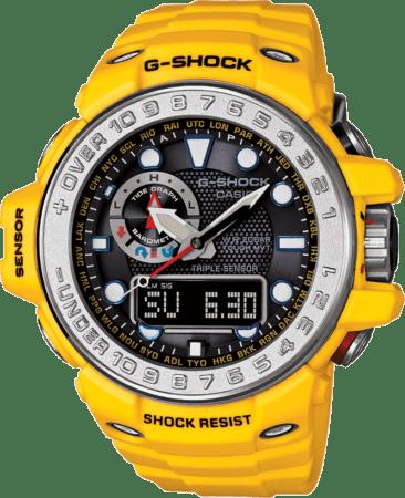 gwn 1000 9a 366x450 Nuevo Gulfmaster de G Shock, un reloj para hombres que desafían los mares profundos