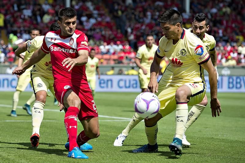 A qué hora juega América vs Toluca en el Apertura 2016 y en qué canal se transmite - horario-america-vs-toluca-apertura-2016-j2