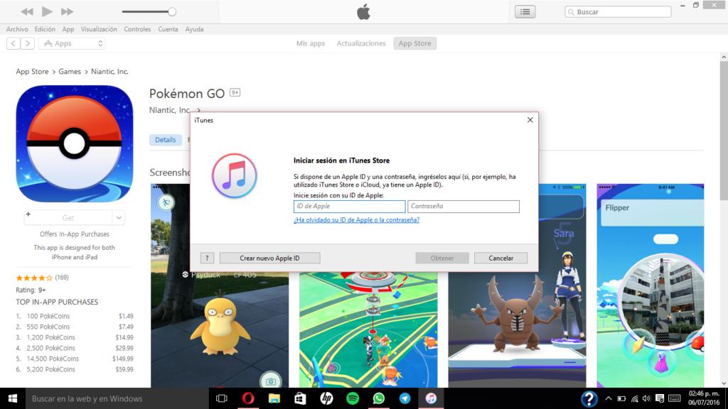 Aprende a descargar Pokemon GO si no está disponible en tu país (iOS y Android) - inst-pokemon-go-appstore-2