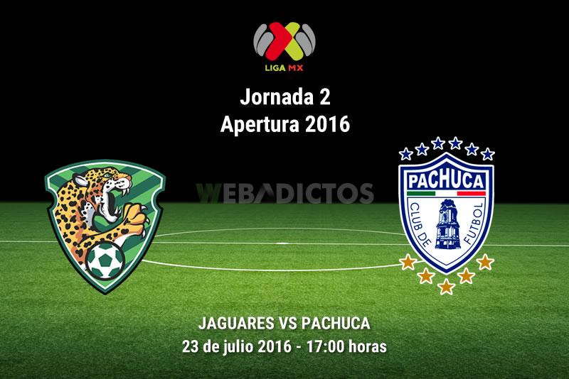 Jaguares vs Pachuca, Fecha 2 del Apertura 2016 | Resultado: 0-2 - jaguares-vs-pachuca-apertura-2016