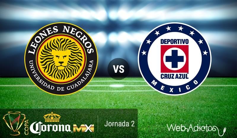 Leones Negros UDG vs Cruz Azul, Copa MX AP2016 | Resultado: 2-2 - leones-negros-udg-vs-cruz-azul-copa-mx-apertura-2016