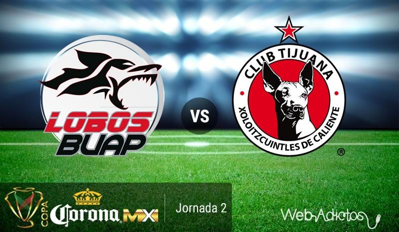 Lobos BUAP vs Tijuana, J2 de la Copa MX Apertura 2016   Resultado: 4-0 - lobos-buap-vs-tijuana-copa-mx-apertura-2016