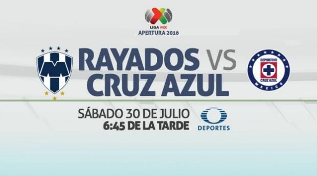 Monterrey vs Cruz Azul, J3 del Apertura 2016 | Resultado: 1-1 - monterrey-vs-cruz-azul-en-vivo-apertura-2016