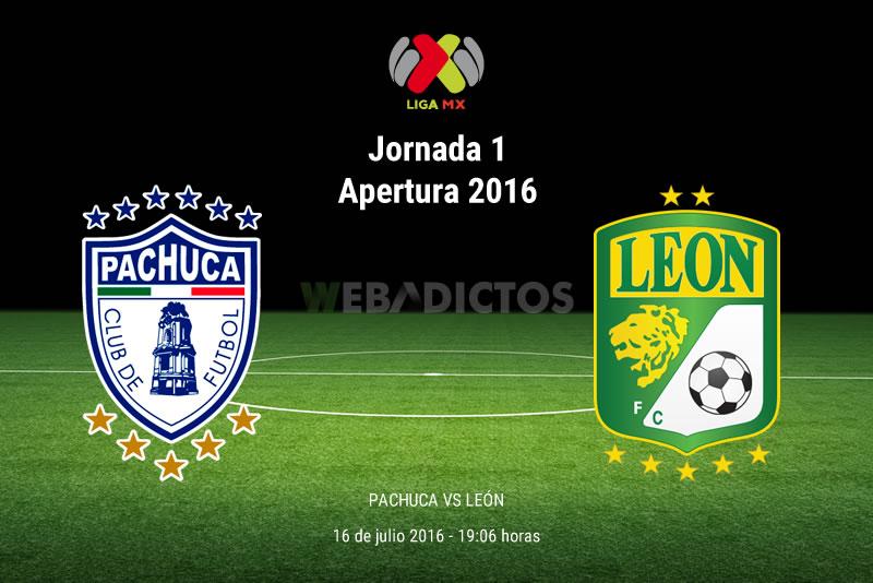 Pachuca vs León, Jornada 1 del Apertura 2016 | Resultado: 5-1 - pachuca-vs-leon-apertura-2016