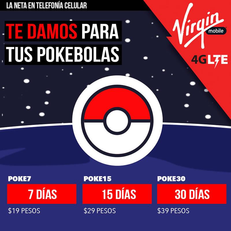 Virgin Mobile anuncia datos ilimitados para jugar Pokémon Go - planes-pokemon-go-virgin-mobile