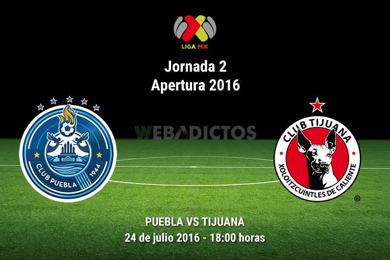 Puebla vs Tijuana, Jornada 2 del Apertura 2016   Resultado: 3-2 - puebla-vs-tijuana-apertura-2016
