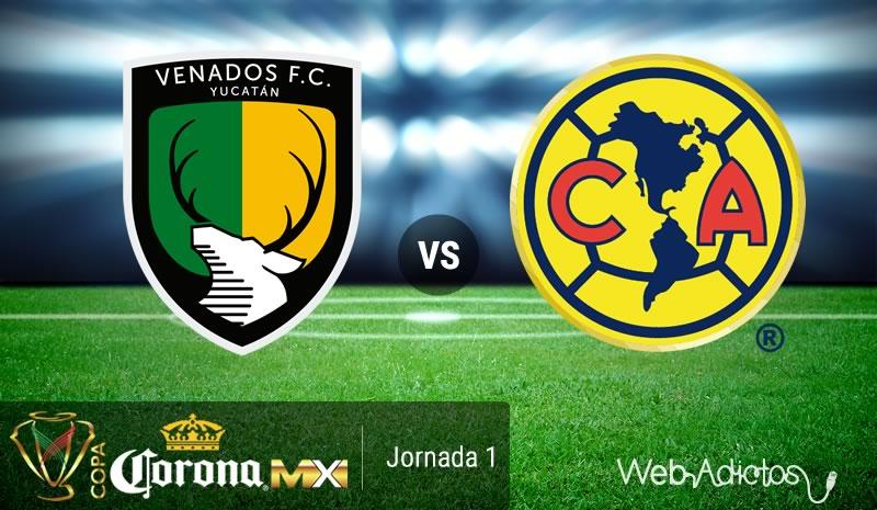 Venados vs América, J1 de la Copa MX AP2016   Resultado: 0-3 - venados-vs-america-copa-mx-apertura-2016