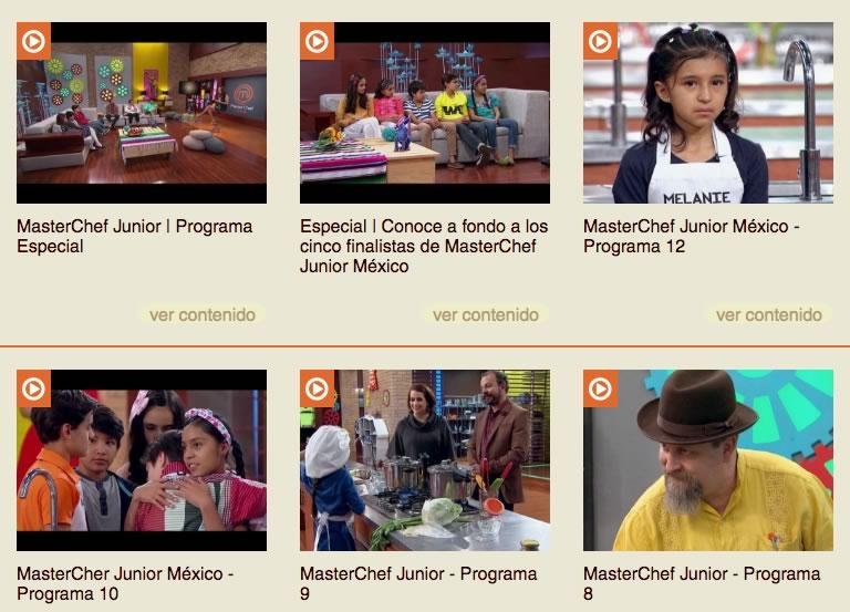 ver capitulos masterchef junior mexico 2016 Revive todos los capítulos de Masterchef Junior 2016 previo a su final