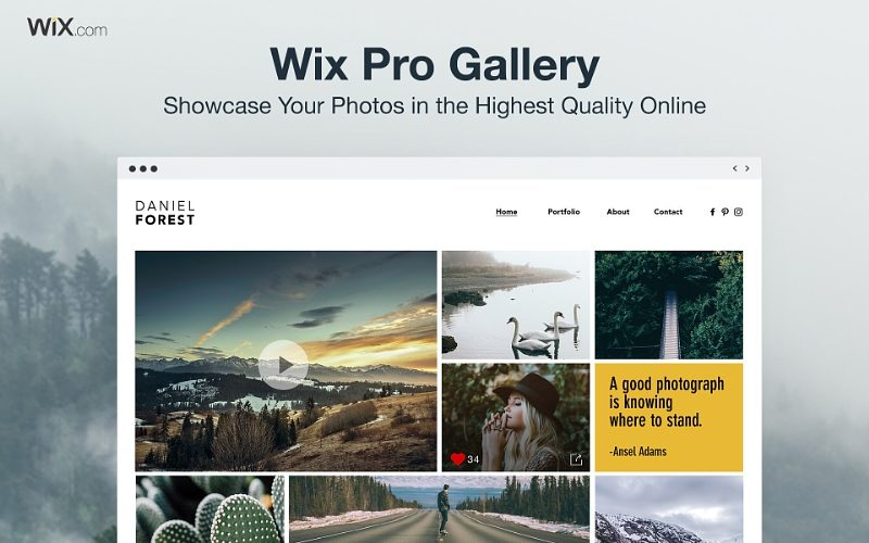 Wix lanza Pro Gallery y se asocia con Condé Nast en una iniciativa para apoyar a los fotógrafos emergentes