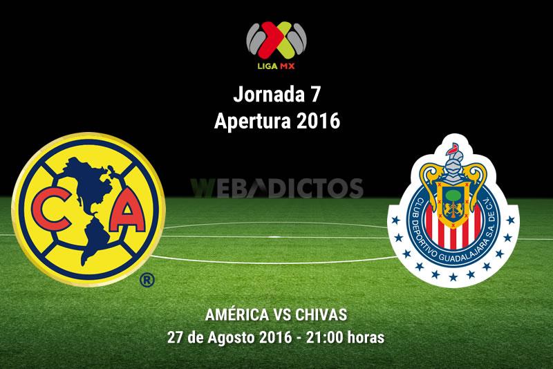 América vs Chivas, Clásico en la J7 del A2017 | Resultado: 0-3 - america-vs-chivas-apertura-2016