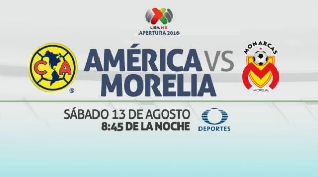 América vs Morelia, J5 de la Liga MX Apertura 2016   Resultado: 1-1 - america-vs-morelia-en-vivo-liga-mx-apertura-2016