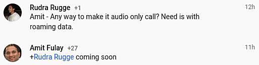 Google Duo recibirá función de llamadas de voz pronto - amit-fulay-google-duo
