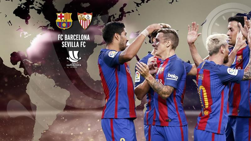 A qué hora juega Barcelona vs Sevilla la Supercopa de España 2016 y en qué canal verlo - barcelona-vs-sevilla-horario-vuelta-supercopa-espana-2016